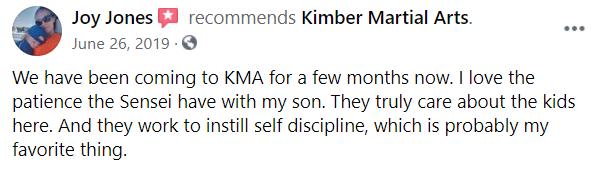 Kids3, Kimber Martial Arts DeLand, FL