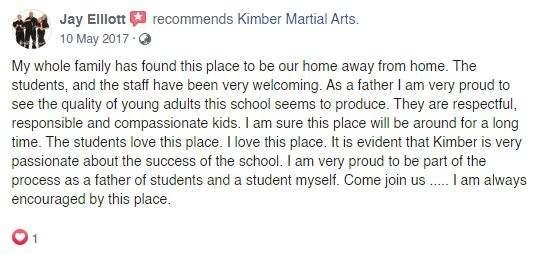 A3, Kimber Martial Arts DeLand, FL