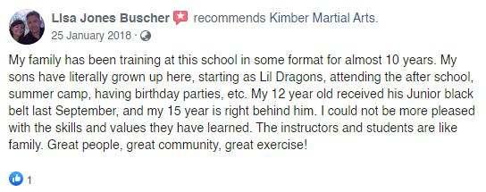 T2, Kimber Martial Arts DeLand, FL